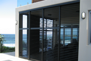 Outdoor blinds external shutters awnings sydney inwood Aluminum exterior plantation shutters