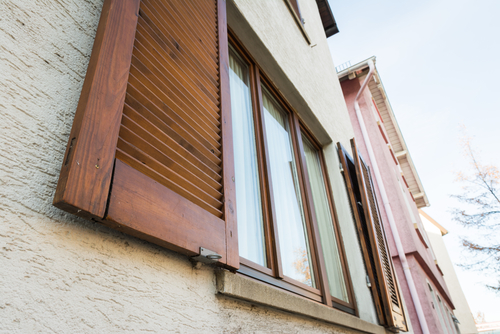 Image of external window shutters in Sydney by Inwood Blinds and Shutters