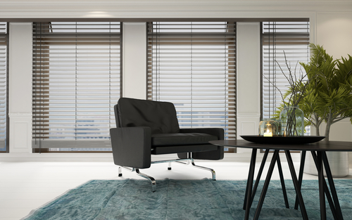Image of timber venetian blinds by Inwood Blinds and Shutters