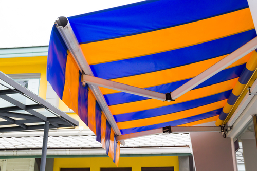 Image of folding arm awnings Sydney by Inwood Blinds and Shutters