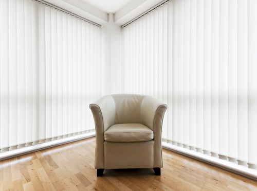 Image of vertical blinds in Sydney by Inwood Blinds and Shutters